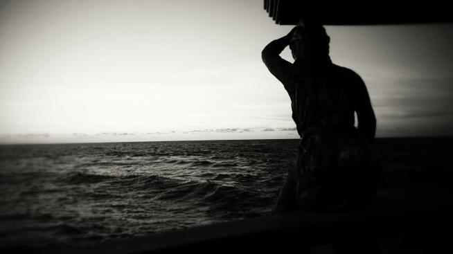 Rejs statkiem na zachód słońca.Ustka2015. Fotografia z kategorii fotografia moim okiem.