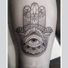 Ręka Fatimy Boska Na Tattoo 3 Zszywkapl