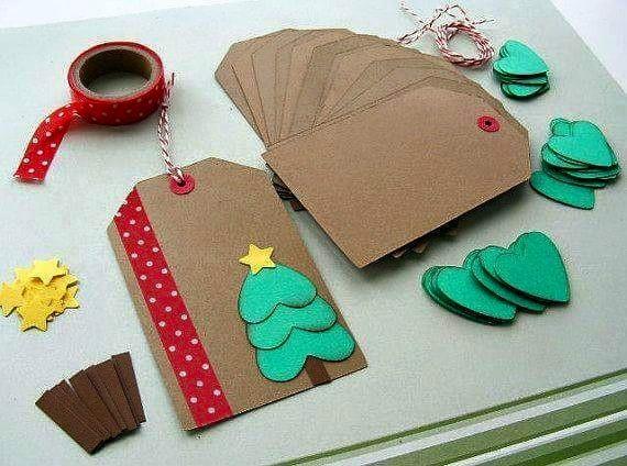 Prosta kartka na Boże Narodzenie :)