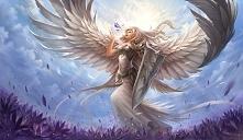 Anioł wojownik