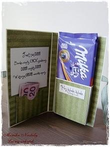 czekoladowy prezent ;)