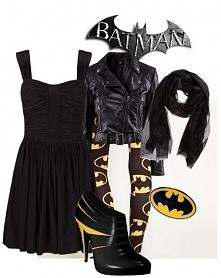 The Batman Look - Geek Girl Fashion. @Kristen Vermillion