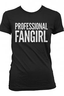 Professional Fangirl T-Shirt - Tyler Oakley on districtlines