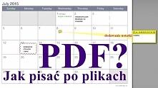 Potrzebujesz napisać coś na dokumencie w pliku PDF ale nie chcesz go drukować...