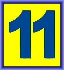 Numerologia - liczba jedenaście - sprawdź na blogu co ot oznacza...