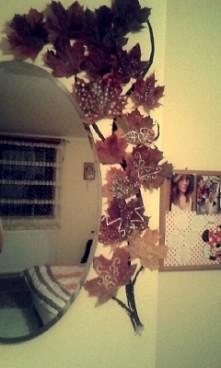 takie DIY  Dekoracja na jesień w moim pokoju