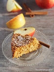 Ciasto jaglane z jabłkami i batatem