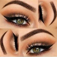 Makijaże - zielone oczy >>