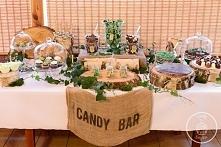 Rustykalny Candy Bar