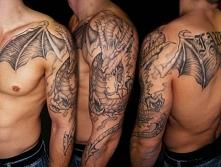 smok tatuaż