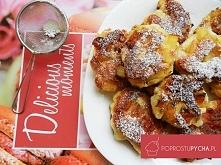 Racuchy drożdżowe z jabłkami! :) Przepis krok po kroku po kliknięciu w zdjęcie