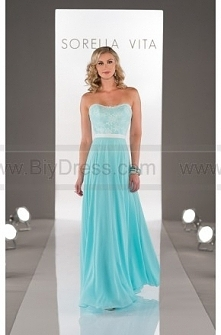 Sorella Vita Navy Bridesmaid Dress Style 8457
