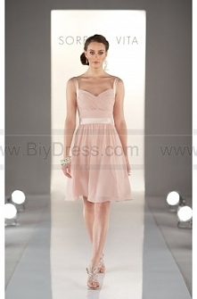Sorella Vita Peach Bridesmaid Dresses Style 8381