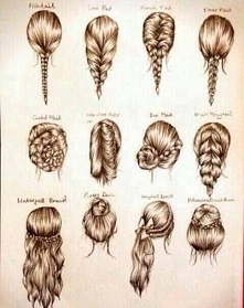 fryzury na każdy dzień