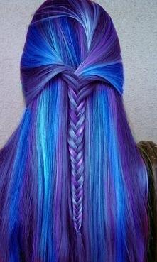 co sądzicie o kolorowych włosach?