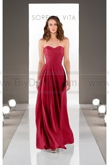 Sorella Vita Floor Length Bridesmaid Gown Style 8530