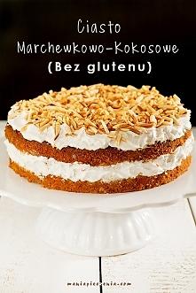 Najlepsze zdrowe ciasto marchewkowe! Bez mąki, glutenu i laktozy. Mega pyszne, wilgotne. Przepis po kliknięciu w zdjęcie. (maniapieczenia.com)
