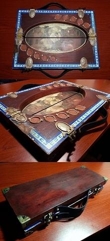 Replika zestawu do gry w kościanego pokera z Wiedźmina