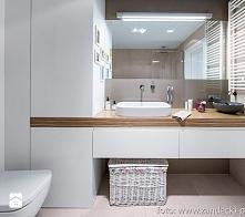 łazienka w stylu nowoczesnym :)