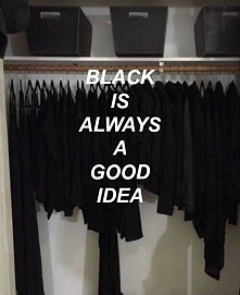 black black everywhere