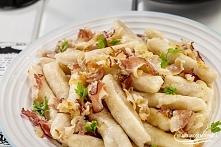 Kluski leniwe z twarogiem i ziemniakami. Przepis po kliknięciu w zdjęcie.
