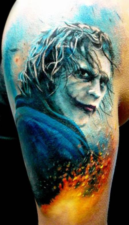Joker Na Tatuaże Zszywkapl