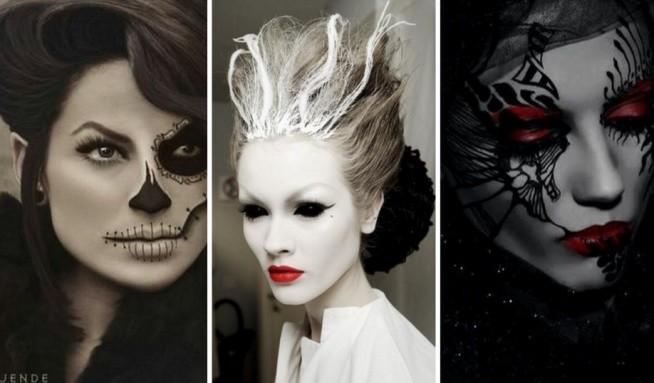 Inspiracje więcej na Feszyn.com Halloween już 31 października. Masz już pomysł na makijaż i przebranie