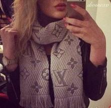 LV scarf, szalik