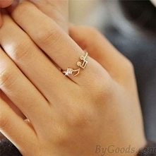 cute music ring