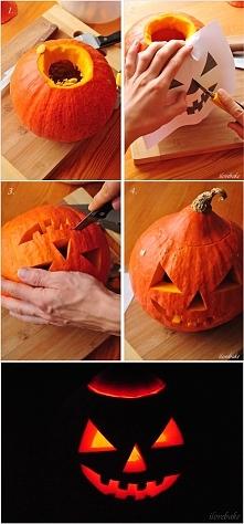 Jak zrobić lampion z dyni n...