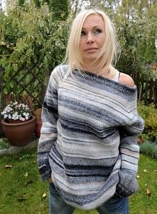 SWETER RAGLANOWY Sweter wyk...