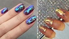 szklane paznokcie - hit tej jesieni :)