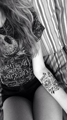 Kilkudniowe tatuaże zmywaln...