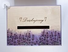 Skrzynia na koperty ślubne! Drewno