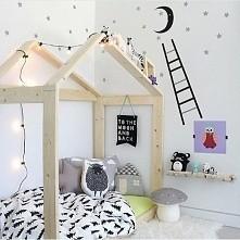 łóżko-domek