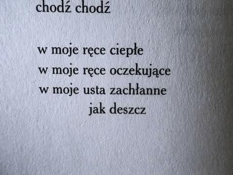 ~Halina Poświatowska