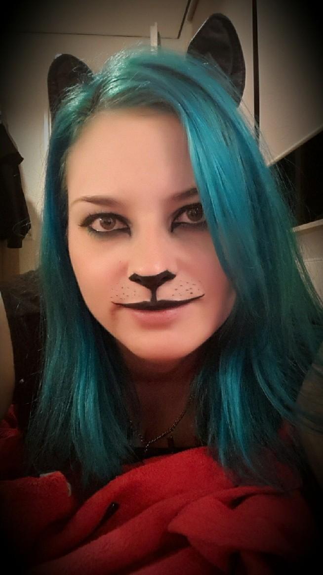 Happy Halloween Kociak Na Włosy Fryzury Zszywkapl
