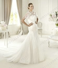 Bridal Gown - Style Pronovias Urturi Lace And Tulle