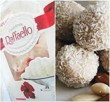 Fit Rafaello ok. 30 szt.  • 1,5 szklanki mleka kokosowego • 1/2 szklanki wiór...
