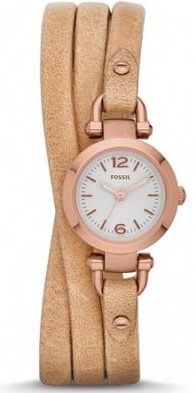 wyjątkowy damski zegarek na skórzanym pasku, idealny do jesiennych stylizacji