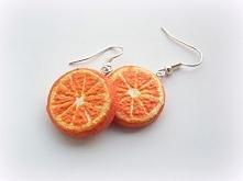 Pomarańcze, czyli kolczyki ...