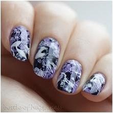 Paznokcie w stylu Jacksona Pollocka :) Cos innego