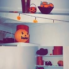 Proste dekoracje na Halloween