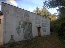 Wojsko Polskie graffiti - mural Wrocław