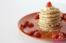 Placki owsiane / oatmeal pancakes przepis na twojediy.pl