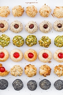 PANELLETS katalońskie ciasteczka marcepanowe