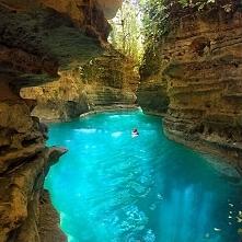 Canlaob River Canyon, Cebu, Philippines