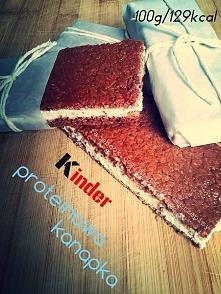 Kinder proteinowa kanapka. ...