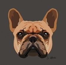 """Pies 2 Sama zrobiłam. Znajdziecie mnie na facebooku pod """"Wilczycas Art"""""""