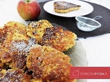 Dietetyczne racuchy owsiane z jabłkami :)! przepis po kliknięciu w zdjęcie <3